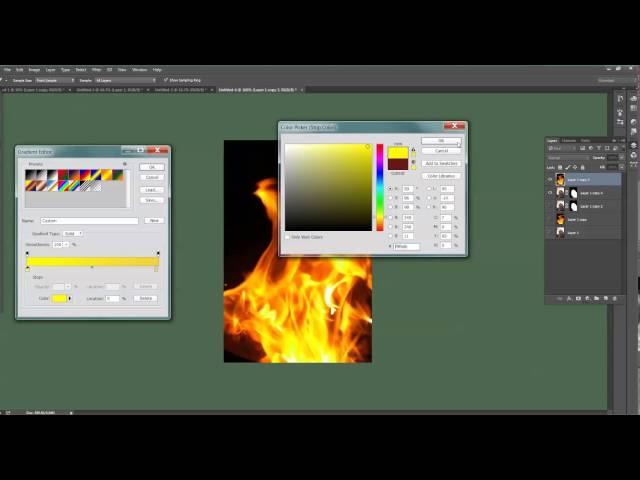 קליקיט פיתוח עסקי באינטרנט - לימוד פוטושופ - Burning Man