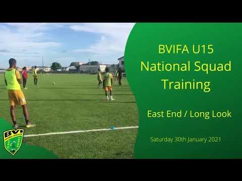 National U15 training programme