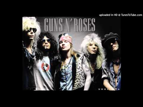 Guns N Roses  Sweet Child O Mine Drum Backing Track HD  High Quality Audio