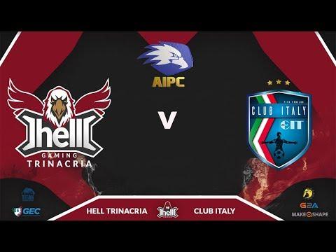 AIPC Serie A1 - 4a giornata: Hell Trinacria Vs Club Italy