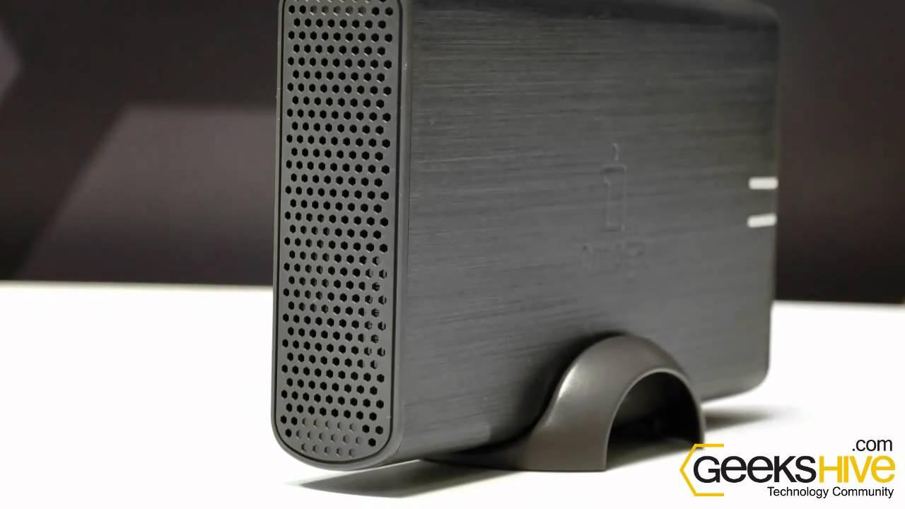 disco rigido externo iomega home media network review by www rh youtube com