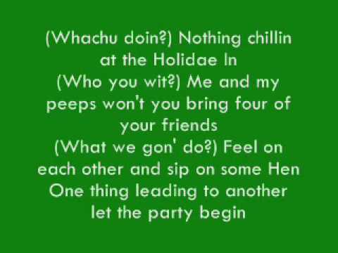 Chingy- Holiday Inn (Ft Snoop Dogg) Lyrics