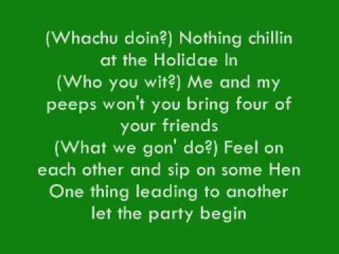 Chingy- Holiday Inn (Ft Snoop Dogg) Lyrics