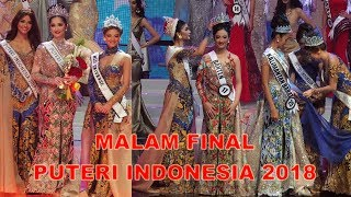 Malam Final Puteri Indonesia 2018