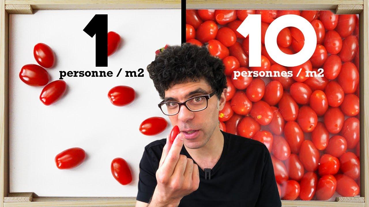 Download 10 niveaux de foule expliqués avec des tomates