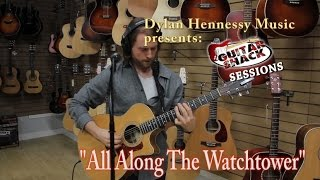 """Video All Along The Watchtower (Looping Cover) - Dylan Hennessy ~ """"Guitar Shack Sessions"""" download MP3, 3GP, MP4, WEBM, AVI, FLV Mei 2018"""