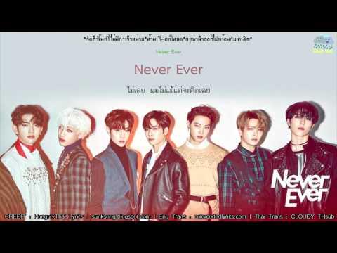 [Karaoke/Thaisub] Never Ever - GOT7(갓세븐)