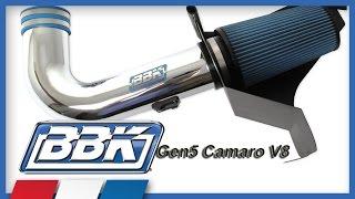 Camaro V8 & V6 Cold Air Intake Kit Installation & Dyno Test (2010-2015)
