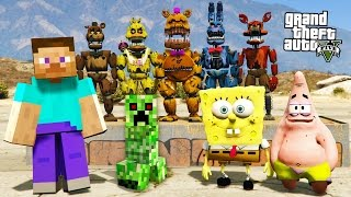MINECRAFT meets FIVE NIGHTS AT FREDDY