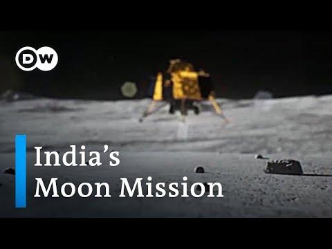 India's Chandrayaan 2 moon probe set for landing | DW News