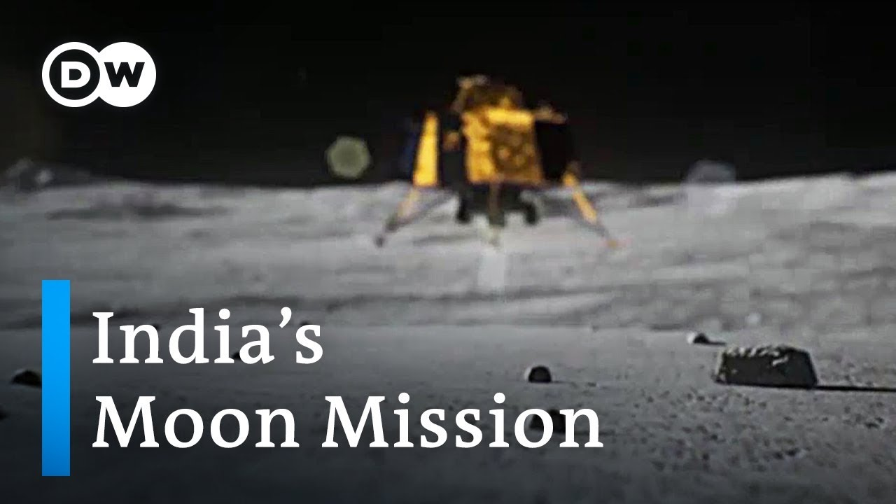 India's Chandrayaan 2 moon probe set for landing | DW News
