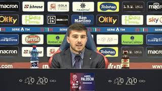 La conferenza  stampa di presentazione di Alberto Paloschi