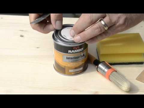 Het schilderen van een tafel rambo interieur lak youtube