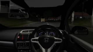 ETS2 : Jalan-Jalan Malam Pakai Honda Jazz
