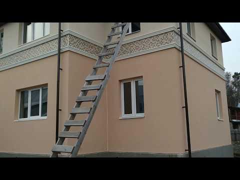 Утепление фасадов дома из пенобетоннных и газобетонных блоков, температурно-усадочный шов