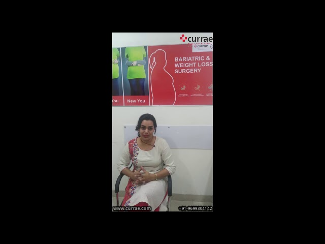Dr. Bhakti Murkey's weight loss of 25 kg with Bariatric Surgery done by Dr. Aparna Govil