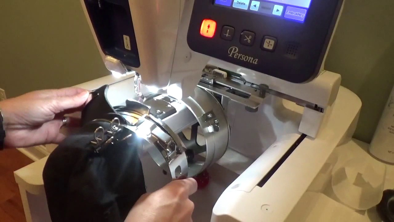 embroidery hat machine