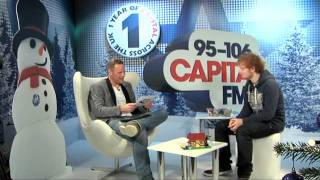 Ed Sheeran Interview At Capital Fm's Jingle Bell Ball 2011