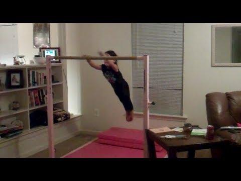 Annie The Gymnast Glide Kip