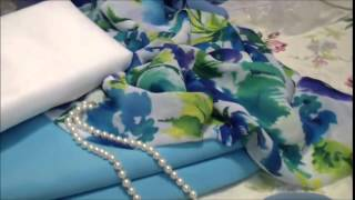 Как выбрать ткань и сшить платье для лета.(Обзор материалов для летнего платья. Скачать видео-курс по пошиву платья полностью:http://loskutkova.ru/wppage/plateeksperiment..., 2014-05-03T19:59:59.000Z)