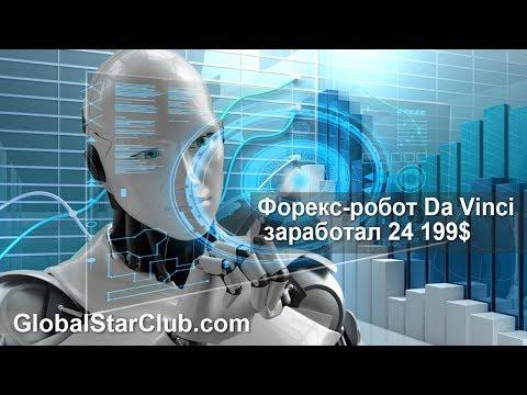 Форекс-робот Da Vinci заработал 24199$
