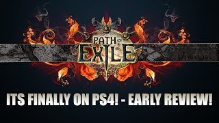 Path Of Exile Is Finally On Ps4!   Ps4 Early Review