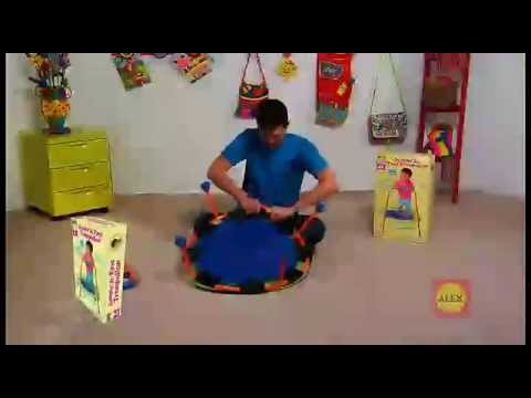 4ed945e6d Alex Jr Jumpin  Jr First Trampoline Toys   Games - YouTube
