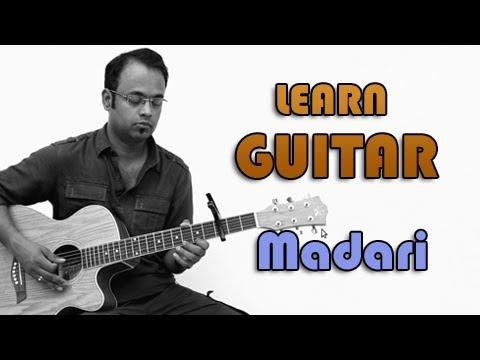 Madari Guitar Lesson - MTV Coke Studio - Vishal Dadlani, Clinton Cerejo, Sonu Kakkad