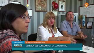 San Carlos renovó convenio con la Dirección de Defensa del Consumidor