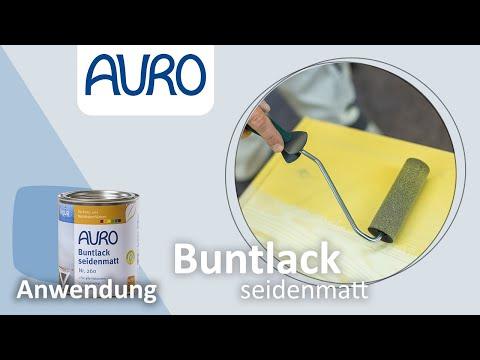 AURO Anwendung Aqua-Lack Kommode