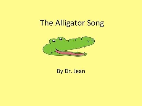 The Alligator is My Friend Song wlyrics