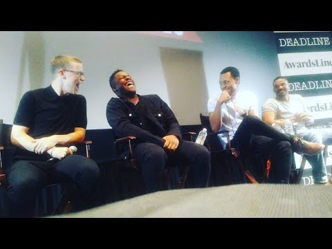 DETROIT Q&A with John Boyega, Will Poulter, Laz Alonso, Tyler James Williams - November 8, 2017