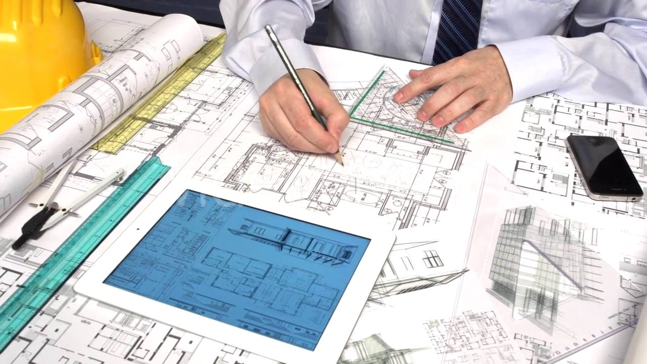 Architect Working In Office 2 - Stock Footage | VideoHive ...
