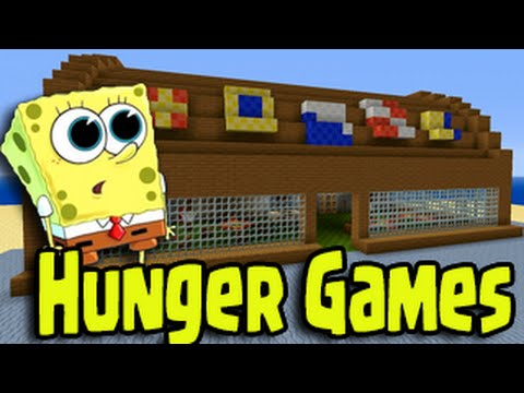 Minecraft PS PS Wii U Hunger Games Spongebob Bikini Bottom - Minecraft spiele fur ps4