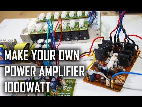 TEST Power Amplifier ROCKY TEF