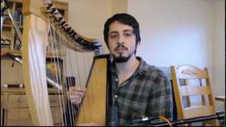 Omnia - Cornwall Harp Cover