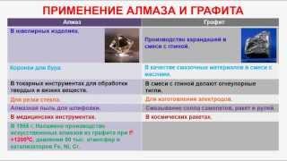 № 234. Неорганическая химия. Тема 29. Углерод и его соединения. Часть 3. Алмаз и графит