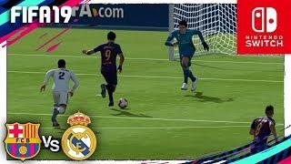 FIFA 19 (Nintendo Switch) LaLiga - FC BARCELONA vs REAL MADRID