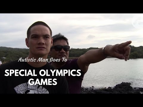 Autistic Man Goes to Special Olympics Games
