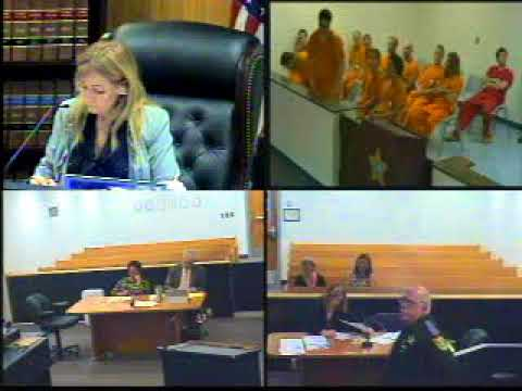 Judge Ruppe First Appearance October 11, 2017