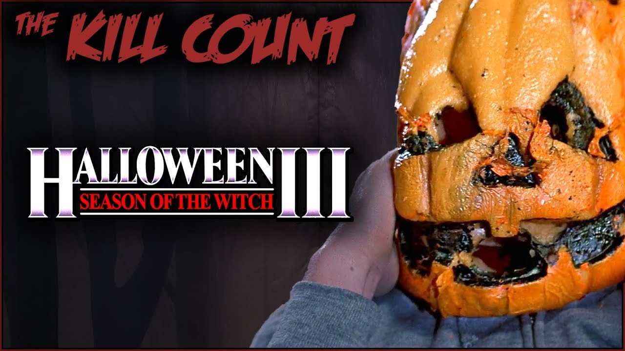 a002eec28 Halloween III: Season of the Witch (1982) KILL COUNT - YouTube