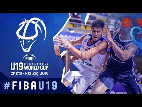 Argentina def. Gilas Pilipinas Youth, 77-72 (REPLAY VIDEO) 2019 FIBA U19 World Cup