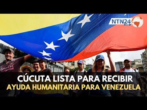 Avanzan preparativos en Cúcuta para recibir ayuda humanitaria para Venezuela