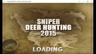 Deer Hunting 2015 ( Windows 10 ) Game Play