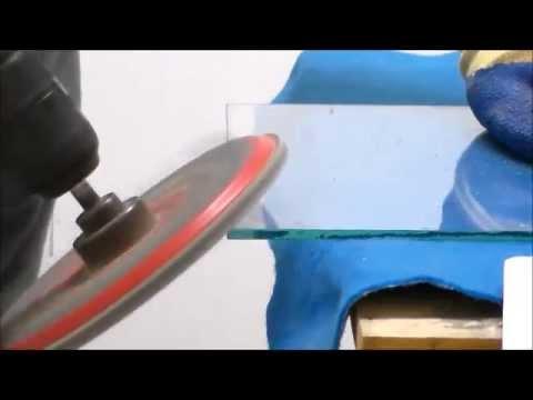 Como pulir o biselar un vidrio en forma casera youtube for Como reparar un cristal agrietado