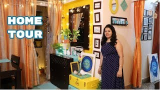 Indian Home Décor Ideas Living Room | Organized Indian House Tour 2018 |Maitreyee's Passion