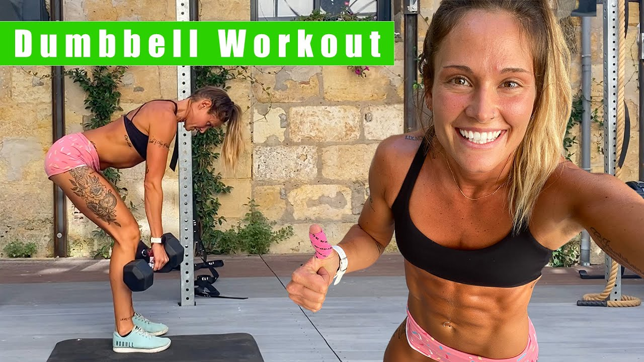 Dumbbell Workout | Full-Body Tabata | Cynthia Balout