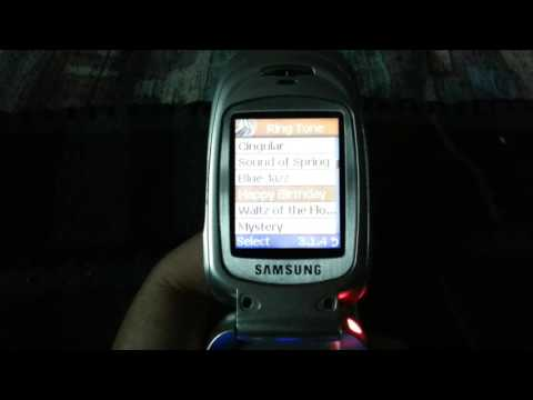 Samsung SGH-x427 Ringtones - Cingular