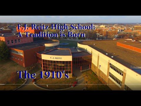 F J  Reitz High School: 1910's A Tradition Is Born