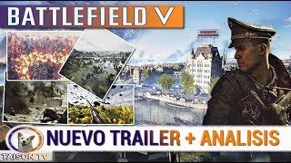 BATTLEFIELD V TRAILER OFICIAL GAMESCOM + ANALISIS, BATTLEROYALE, NORTE DE AFRICA Y MAS